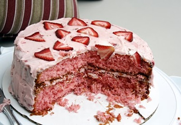 strawberry cake from scratch recipe box 7732