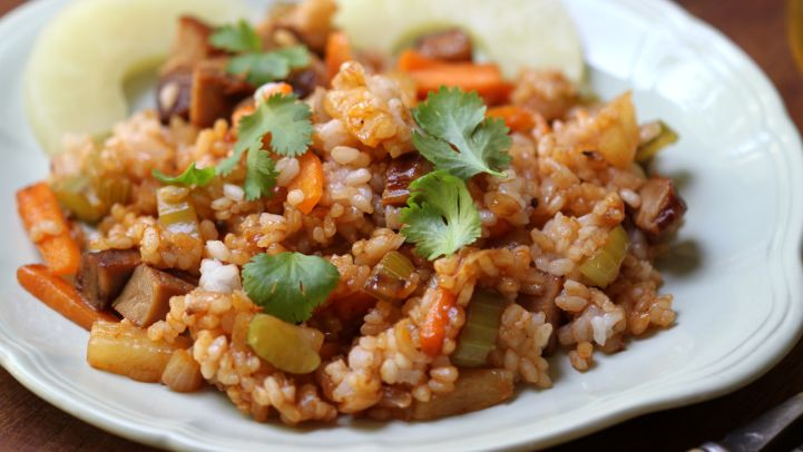 10 recipes with instant rice genius kitchen caribbean pork n rice ccuart Choice Image