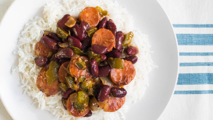 Slow-Cooker Red Beans & Rice
