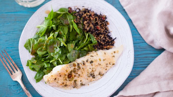 Our 63 most popular recipes on pinterest genius kitchen tilapia parmesan recipe forumfinder Choice Image