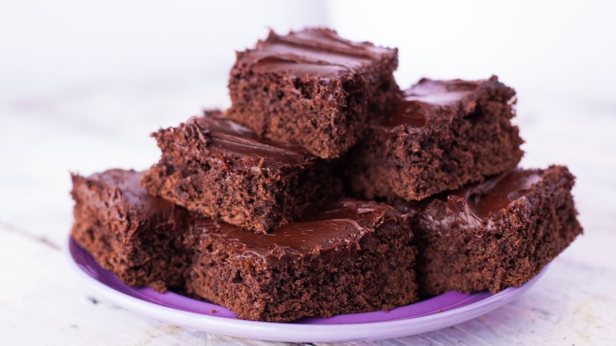 NoFail Easy Cake Mix Brownies Recipe Genius Kitchen