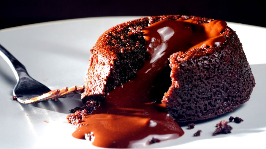 Vegan Chocolate Lava Cake Recipe Genius Kitchen
