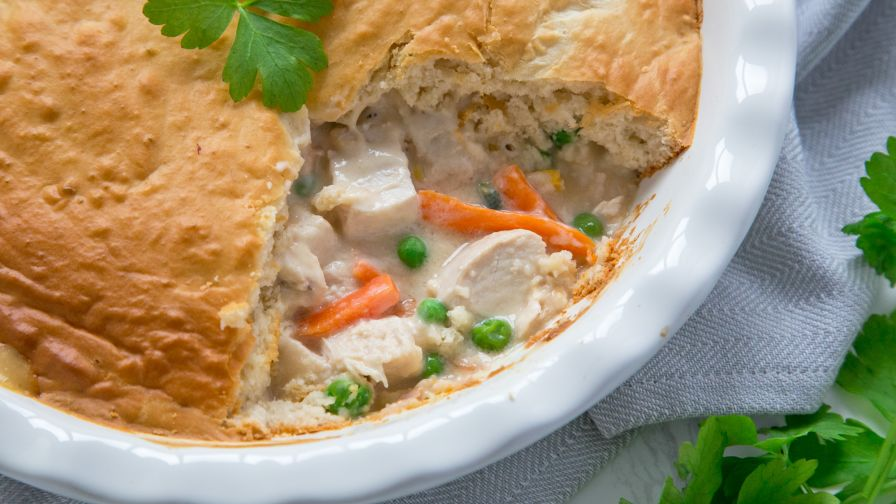 Easy bisquick chicken pot pie recipe genius kitchen 19 view more photos save recipe forumfinder