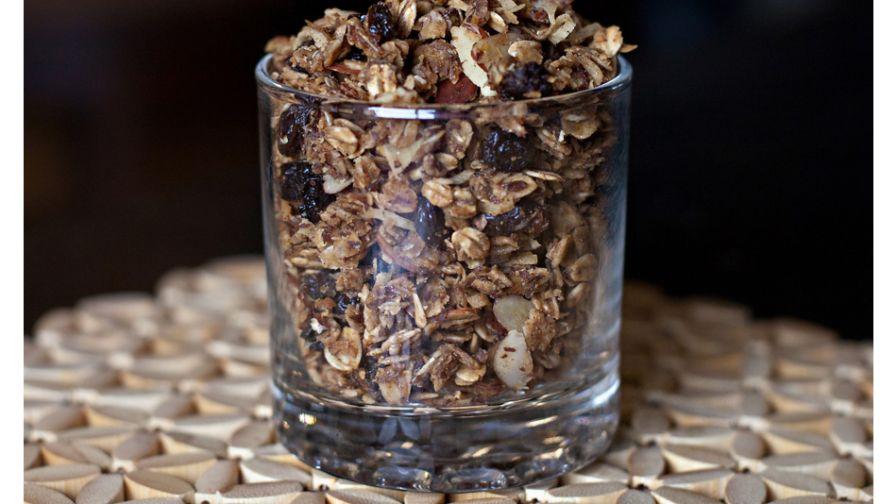 Healthy granola recipe genius kitchen 4 view more photos save recipe forumfinder Choice Image
