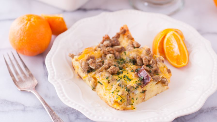Easy breakfast egg casserole recipe genius kitchen 8 view more photos save recipe forumfinder Image collections