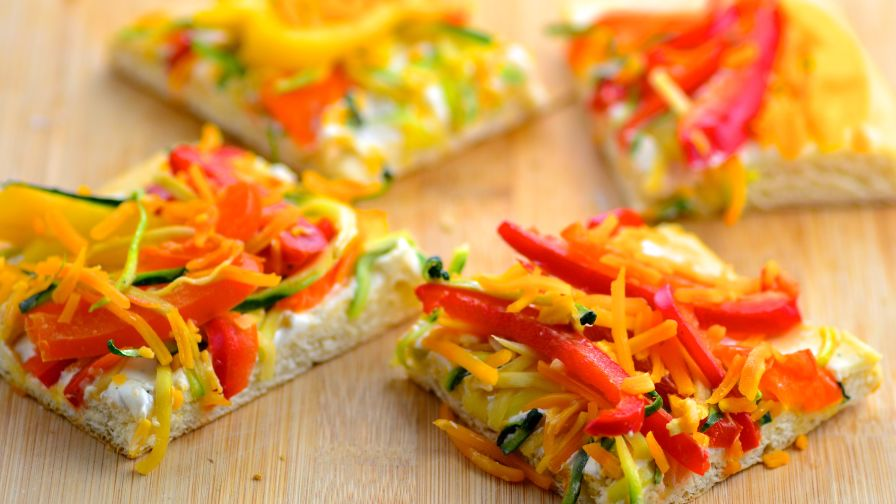 Veggie pizza recipe genius kitchen 6 view more photos save recipe forumfinder Images