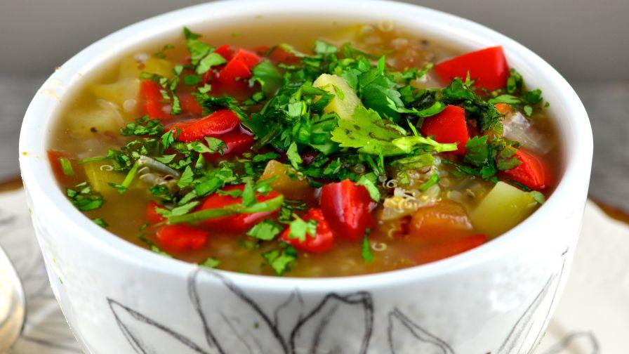 Ecuadorean quinoa and vegetable soup recipe genius kitchen 6 view more photos save recipe forumfinder Images