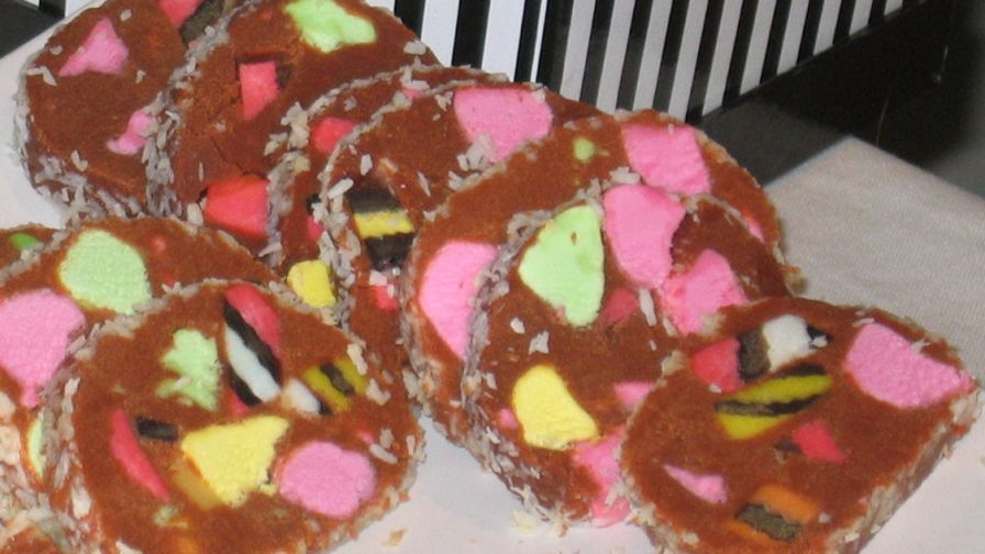New zealand lolly log cake recipe genius kitchen 1 view more photos save recipe forumfinder Gallery