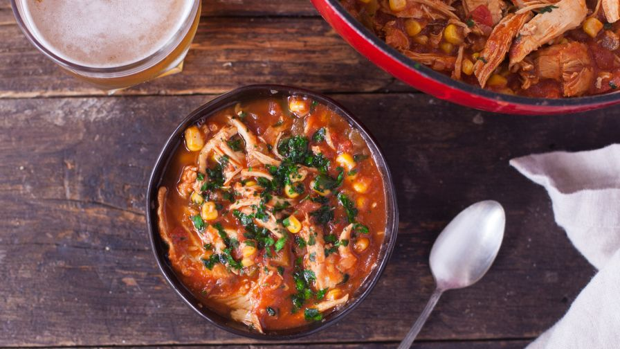 Amazing chicken tortilla soup recipe genius kitchen 14 view more photos save recipe forumfinder Images