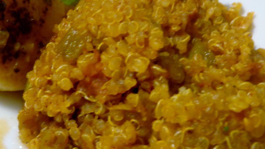 Spanish quinoa recipe genius kitchen 6 view more photos save recipe forumfinder Gallery