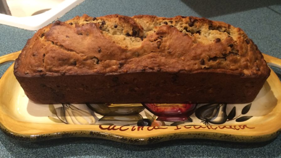 Chocolate chip banana nut bread recipe genius kitchen 10 view more photos save recipe forumfinder Image collections