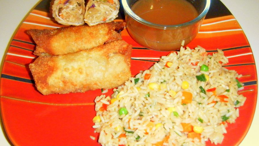 Easy chicken egg rolls recipe genius kitchen 11 view more photos save recipe forumfinder Image collections