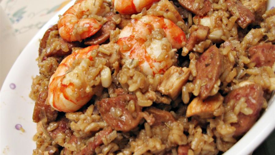 Finallywroteitdown chicken sausage and shrimp jambalaya recipe 3 view more photos save recipe forumfinder Choice Image