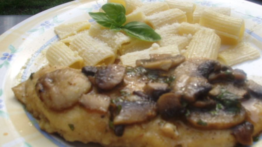 Basil chicken marsala with mushrooms recipe genius kitchen 2 view more photos save recipe forumfinder Choice Image