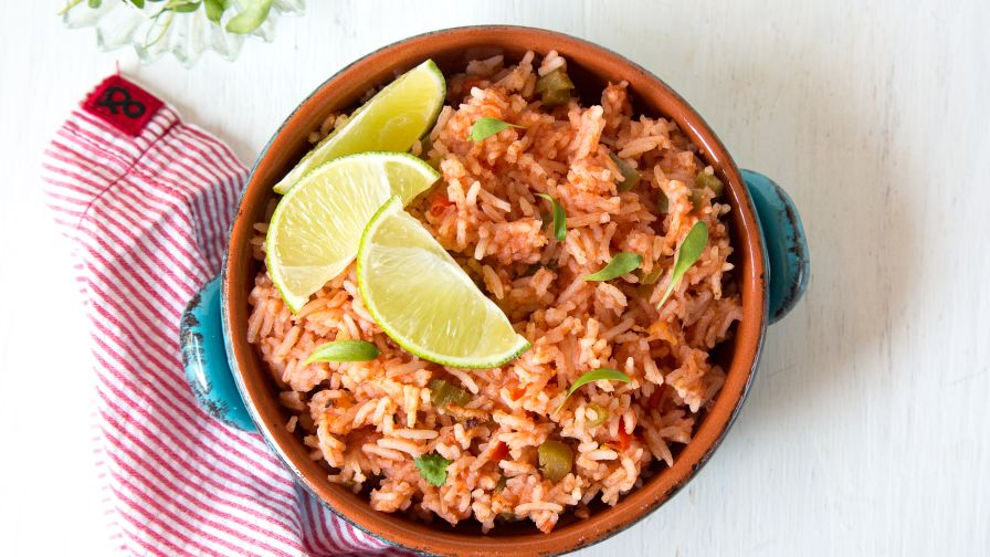 Mexican rice recipe genius kitchen 44 view more photos save recipe forumfinder