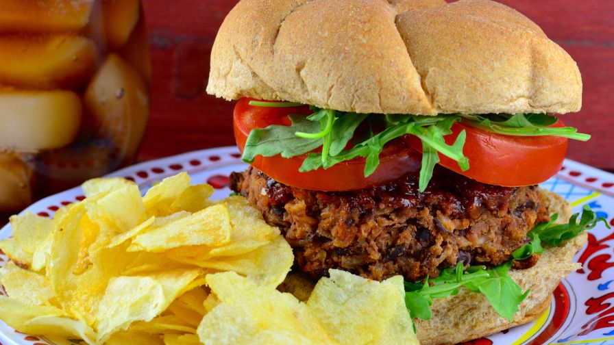 Houstons Restaurant Copycat Veggie Burgers Recipe - Genius Kitchen