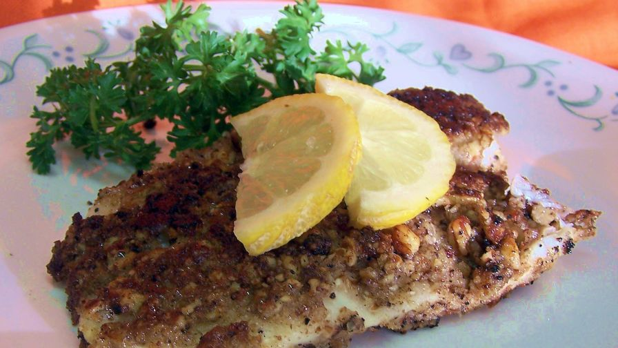 Pecan crusted tilapia recipe genius kitchen 2 view more photos save recipe forumfinder Image collections