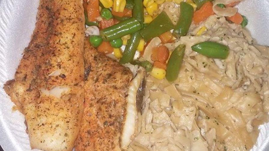 Simple baked fish recipe genius kitchen forumfinder Gallery