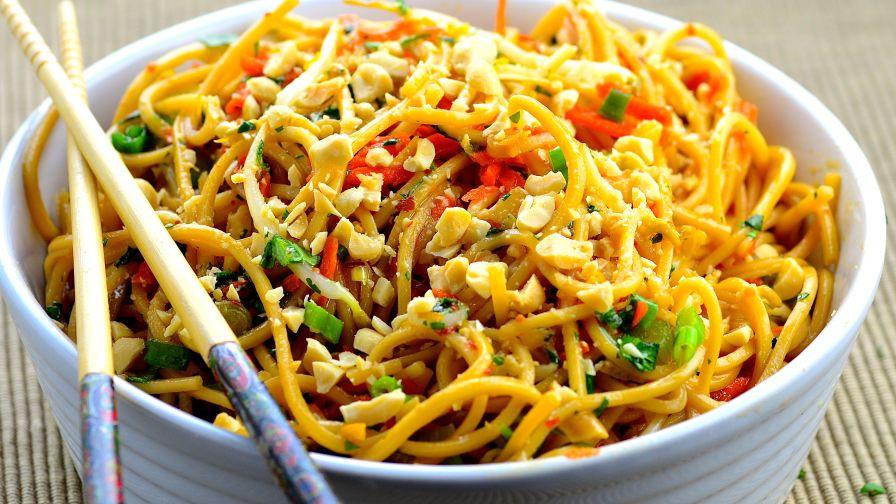 Cold chili orange noodles recipe genius kitchen forumfinder Image collections
