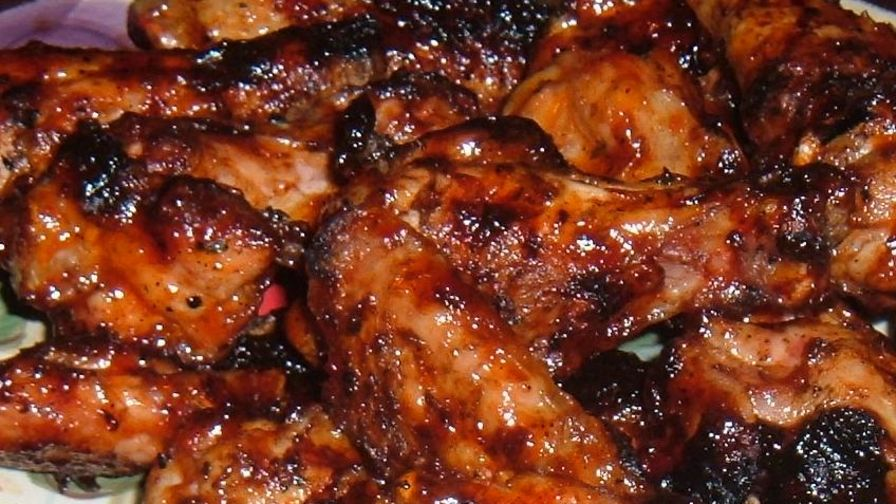 Chicken wings with thai sweet and hot chili glaze recipe genius 5 view more photos save recipe forumfinder Images