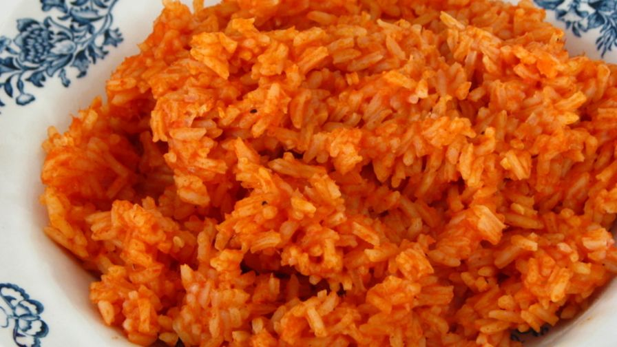 Mexican red rice recipe genius kitchen 10 view more photos save recipe forumfinder Gallery