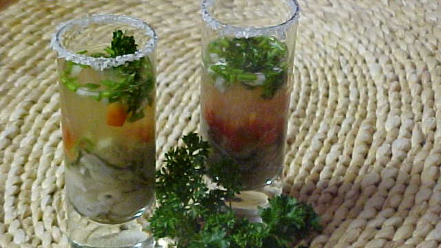 Tequila oyster shooters recipe genius kitchen 1 view more photos save recipe forumfinder Choice Image