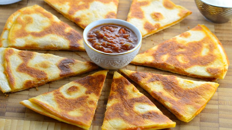 Your basic quesadilla recipe genius kitchen 13 view more photos save recipe forumfinder Gallery
