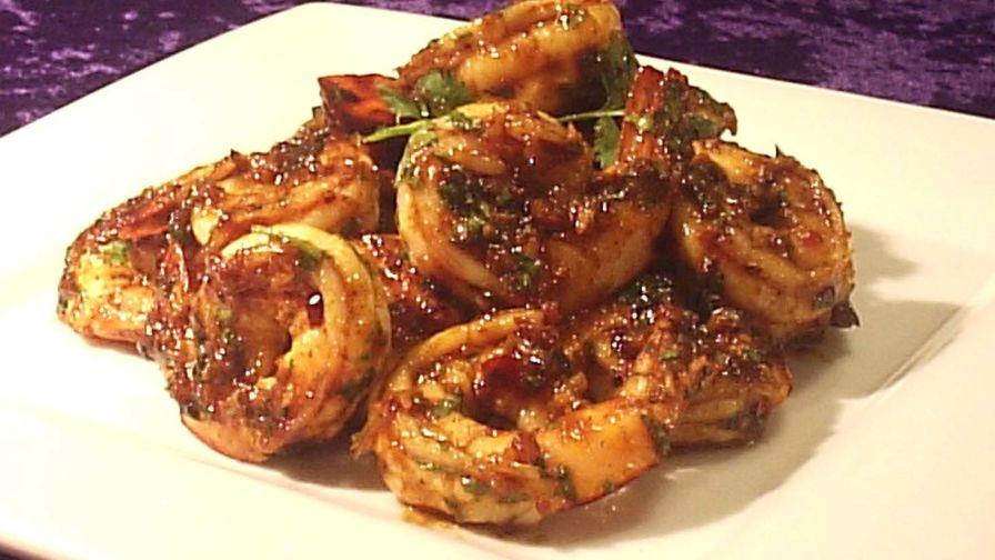 Spicy king prawns recipe genius kitchen 10 view more photos save recipe forumfinder Images