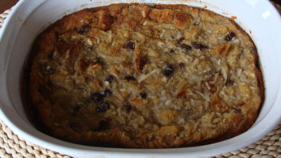 Refrigerated bread pudding recipe best bread 2018 salted caramel banana bread pudding recipe food network kitchen refrigerate bread pudding best 2018 forumfinder Images