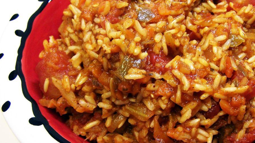 Spanish rice recipe genius kitchen 6 view more photos save recipe forumfinder Gallery