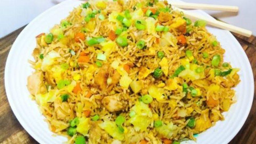 Hawaiian rice recipe genius kitchen ccuart Image collections
