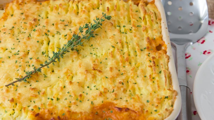 Thanksgiving leftovers turkey shepherds pie recipe genius kitchen 4 view more photos save recipe forumfinder Images