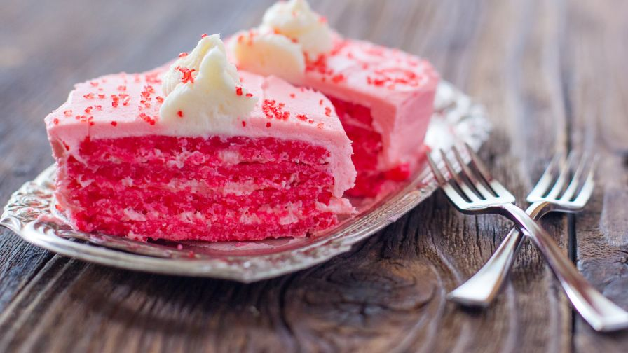 Easy bake oven pretty pink cake recipe genius kitchen 5 view more photos save recipe forumfinder Gallery