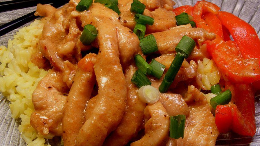Stir fry chicken with garlic sauce recipe genius kitchen 21 view more photos save recipe forumfinder Images
