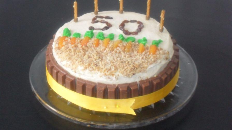 Carrot Cake Large Recipe Genius Kitchen