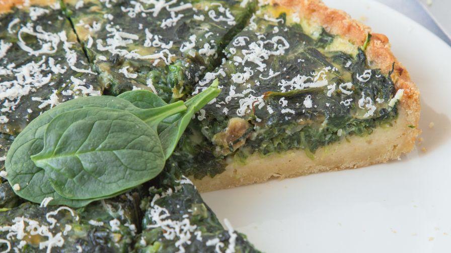 Spinach quiche recipe genius kitchen 14 view more photos save recipe forumfinder Gallery