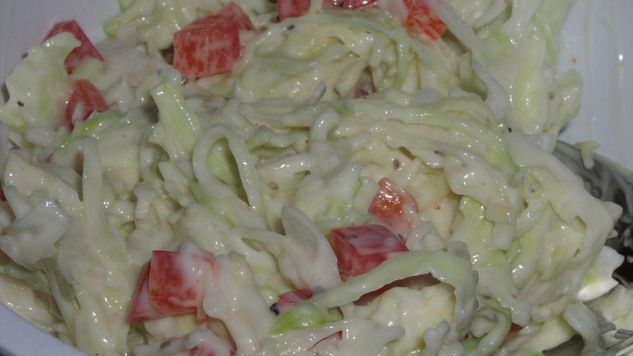 Weight watchers coleslaw recipe genius kitchen 1 view more photos save recipe forumfinder Choice Image
