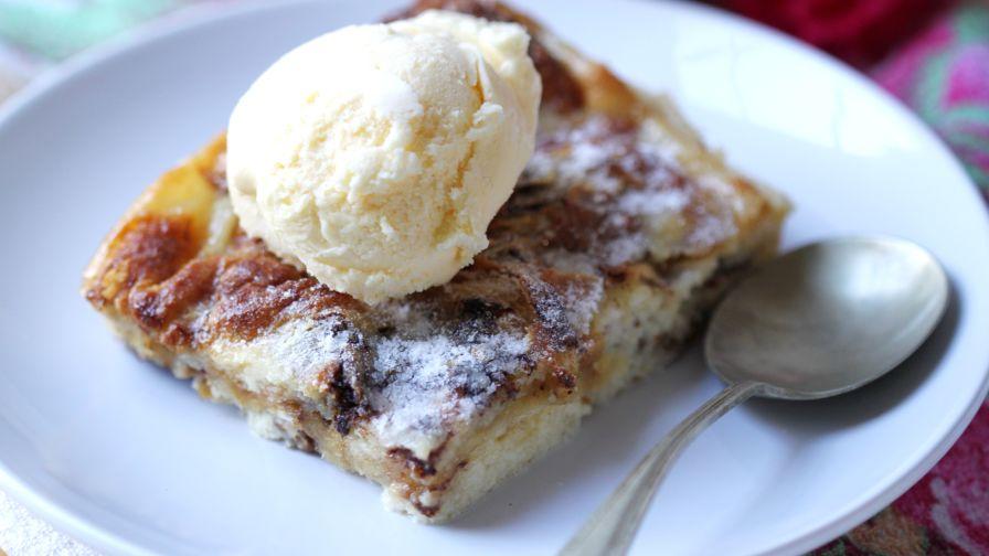 Nutella bread pudding recipe genius kitchen 7 view more photos save recipe forumfinder Images