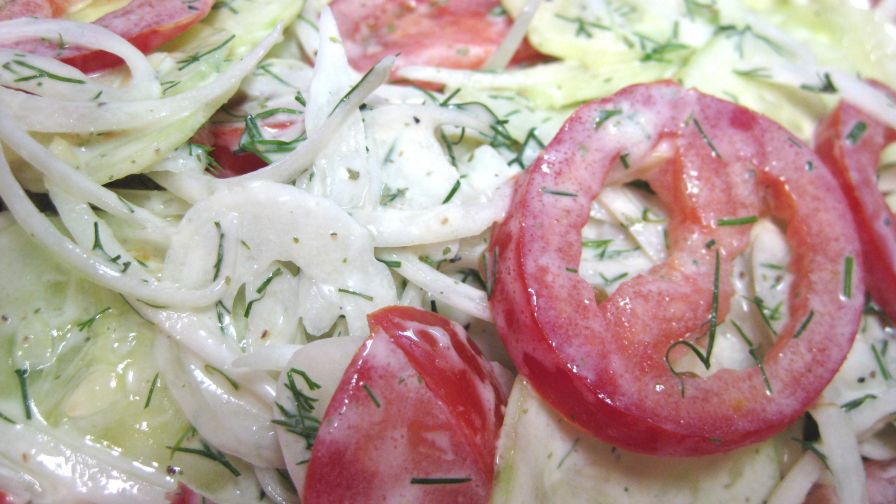 German cucumber salad recipe genius kitchen 7 view more photos save recipe forumfinder Image collections