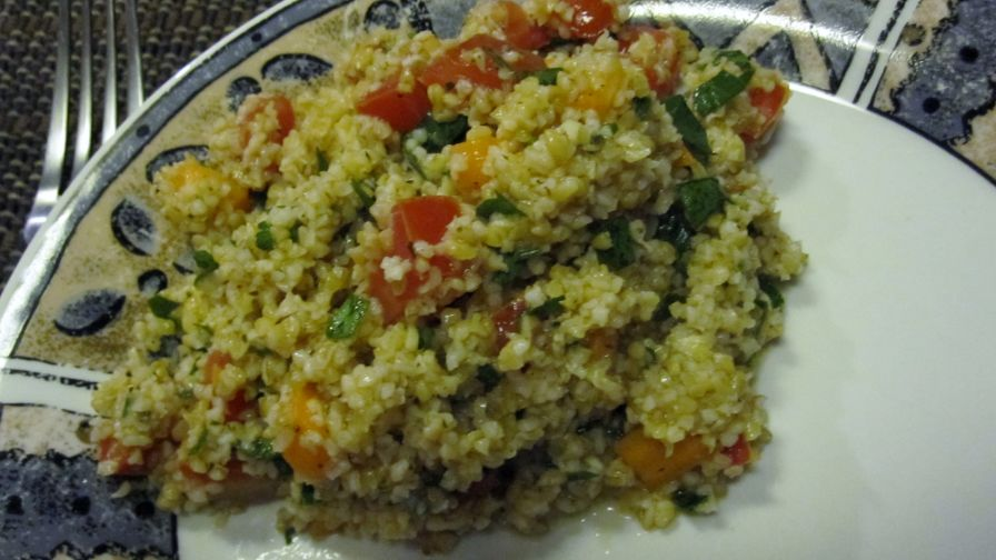 Tabbouleh salad recipe healthynius kitchen 4 view more photos save recipe forumfinder Gallery