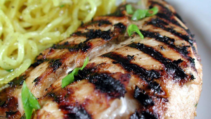 Asian grilled chicken recipe genius kitchen 2 view more photos save recipe forumfinder Choice Image
