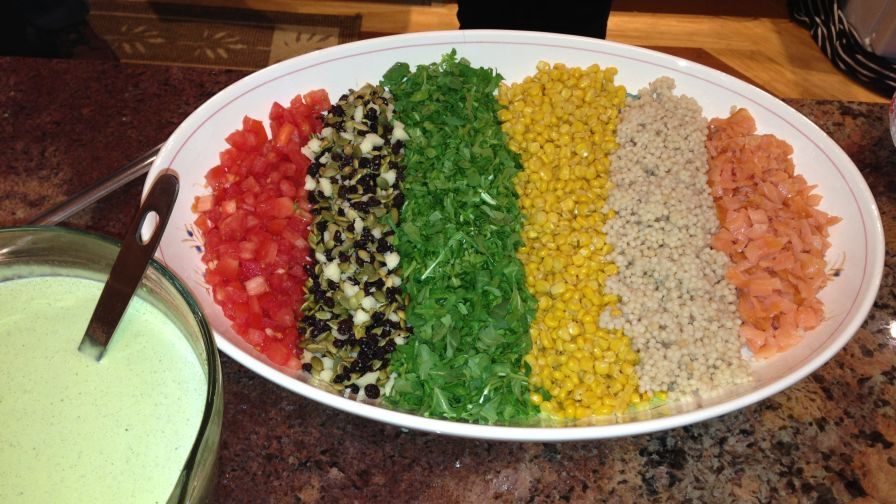 Stetson chopped salad recipe genius kitchen forumfinder Image collections