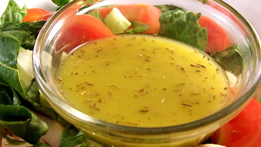 recipe: best lemon vinaigrette dressing [10]