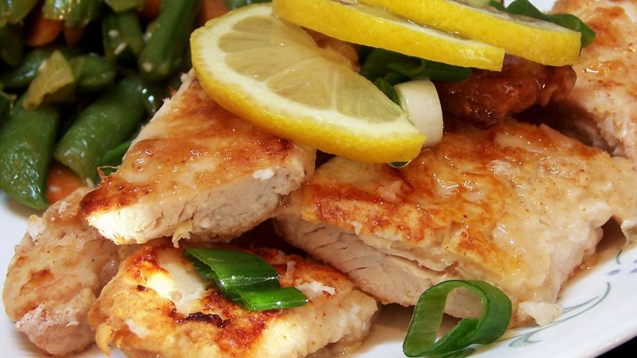 Baked lemon chicken with chinese lemon sauce recipe genius kitchen 1 view more photos save recipe forumfinder Images