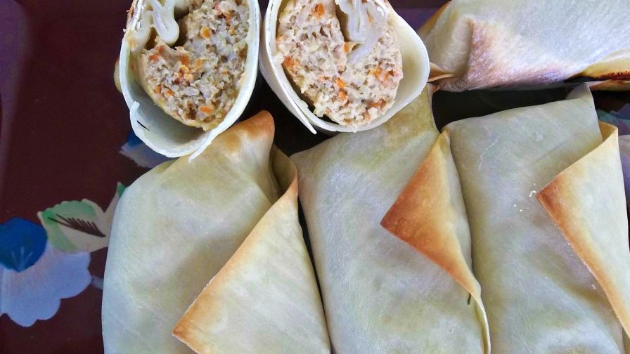 Baked lumpia rolls recipe genius kitchen 6 view more photos save recipe forumfinder Images