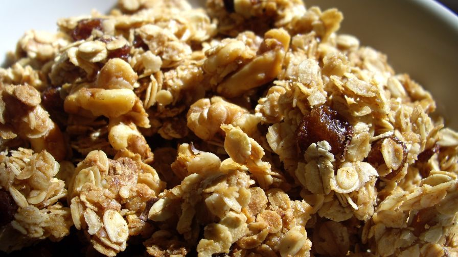 Cinnamon walnut granola recipe genius kitchen 9 view more photos forumfinder Gallery