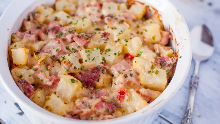 Ham and potato casserole recipe genius kitchen 12 view more photos save recipe forumfinder Gallery