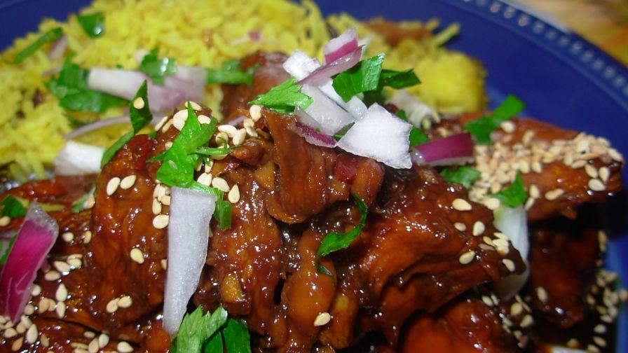 Easy indonesian chicken recipe genius kitchen 5 view more photos save recipe forumfinder Gallery