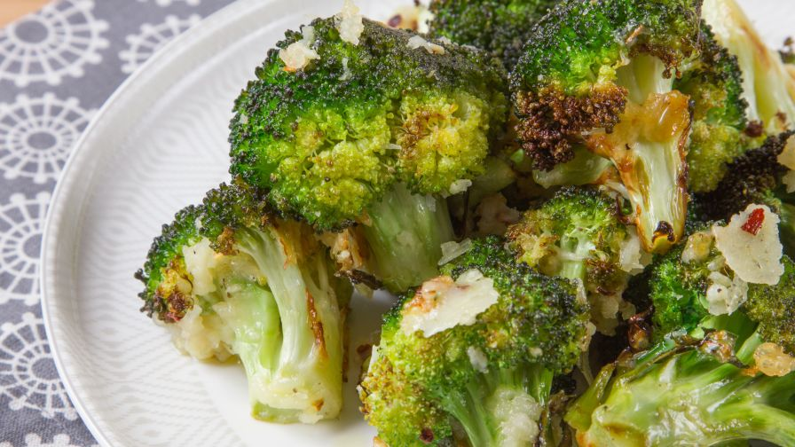 Oven roasted broccoli recipe genius kitchen 8 view more photos save recipe forumfinder Choice Image