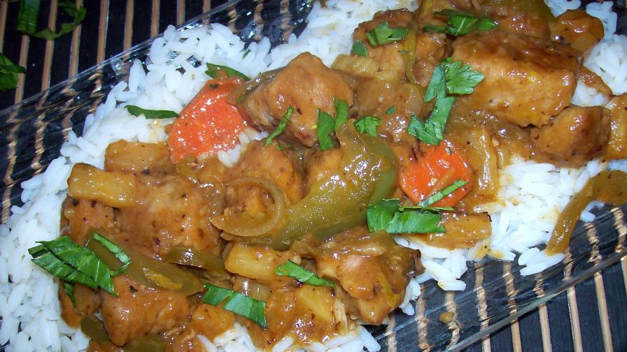Polynesian pork and rice recipe genius kitchen 2 view more photos forumfinder Image collections